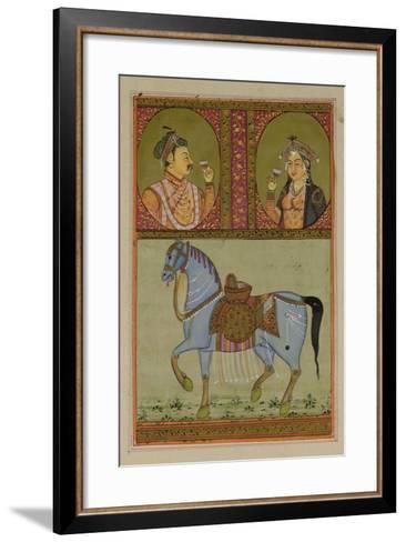 Shah Jahan--Framed Art Print