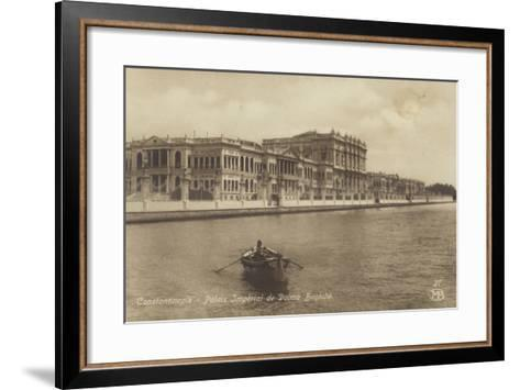 Dolmabahce Palace, Constantinople, Turkey--Framed Art Print