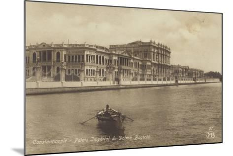 Dolmabahce Palace, Constantinople, Turkey--Mounted Photographic Print