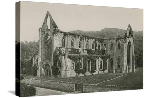Tintern Abbey-English Photographer-Stretched Canvas Print