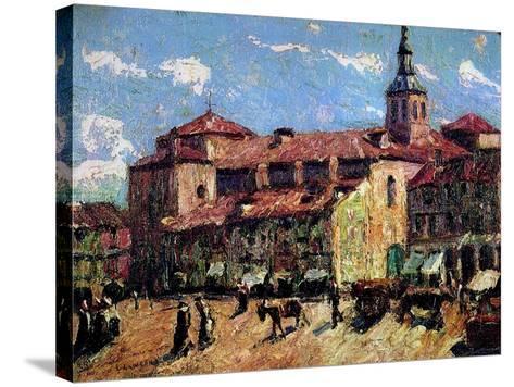 Segovia, Spain, C.1916-17-Ernest Lawson-Stretched Canvas Print