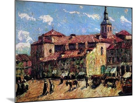 Segovia, Spain, C.1916-17-Ernest Lawson-Mounted Giclee Print