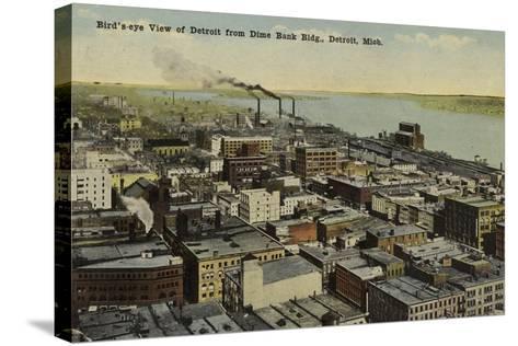 Detroit, Michigan, USA--Stretched Canvas Print