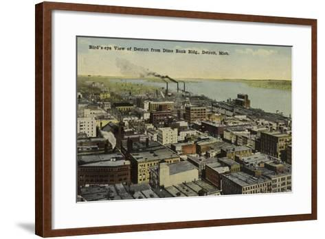 Detroit, Michigan, USA--Framed Art Print