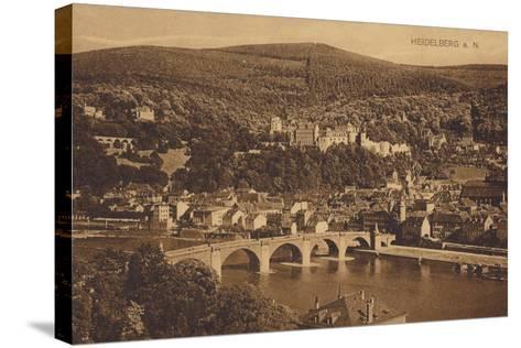 Heidelberg, Germany--Stretched Canvas Print