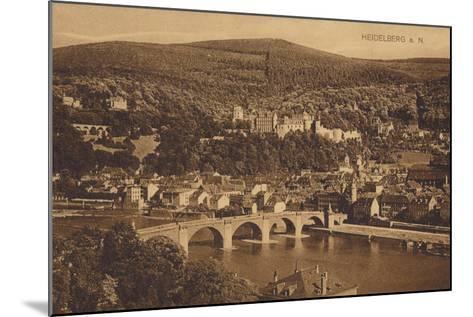 Heidelberg, Germany--Mounted Photographic Print