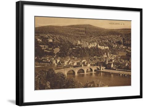 Heidelberg, Germany--Framed Art Print