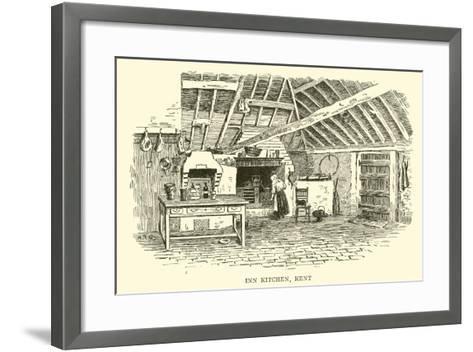 Inn Kitchen, Kent-Alfred Robert Quinton-Framed Art Print