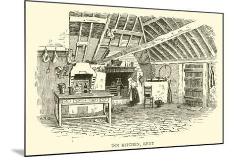 Inn Kitchen, Kent-Alfred Robert Quinton-Mounted Giclee Print