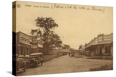 Likasi - Avenue De Kambove--Stretched Canvas Print