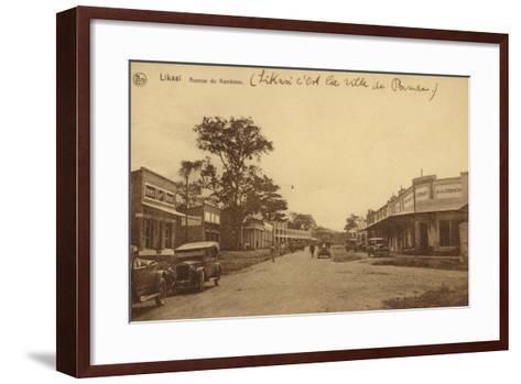 Likasi - Avenue De Kambove--Framed Art Print