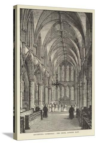 Southwell Cathedral, the Choir, Looking East--Stretched Canvas Print