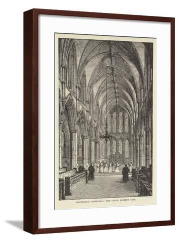 Southwell Cathedral, the Choir, Looking East--Framed Art Print