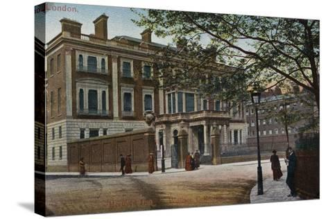 Hertford House in Manchester Square--Stretched Canvas Print
