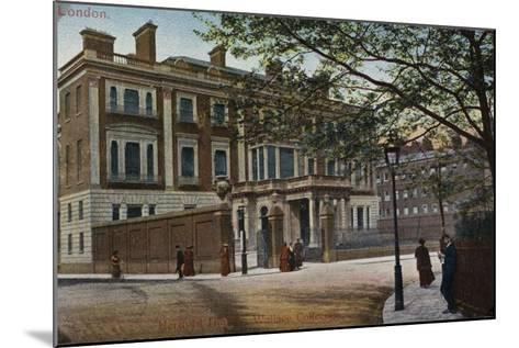 Hertford House in Manchester Square--Mounted Photographic Print
