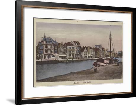 Waterfront, Emden, Germany--Framed Art Print