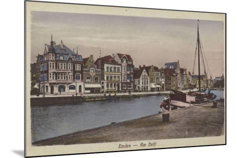 Waterfront, Emden, Germany--Mounted Photographic Print