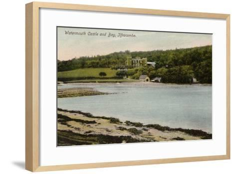 Watermouth Castle and Bay, Ilfracombe--Framed Art Print