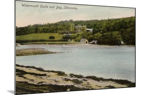 Watermouth Castle and Bay, Ilfracombe--Mounted Photographic Print
