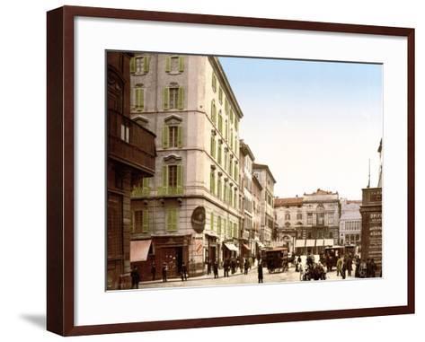View of Rome--Framed Art Print