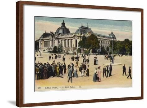 Postcard Depicting Le Petit Palais--Framed Art Print