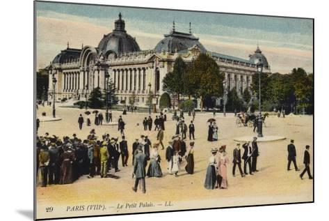 Postcard Depicting Le Petit Palais--Mounted Photographic Print