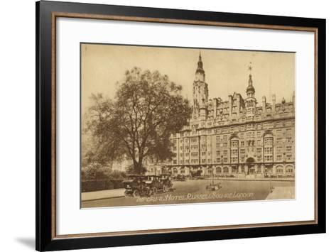 Imperial Hotel Russell Square, London--Framed Art Print