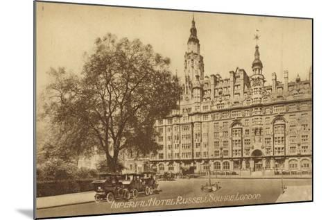 Imperial Hotel Russell Square, London--Mounted Photographic Print