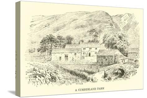 A Cumberland Farm-Alfred Robert Quinton-Stretched Canvas Print