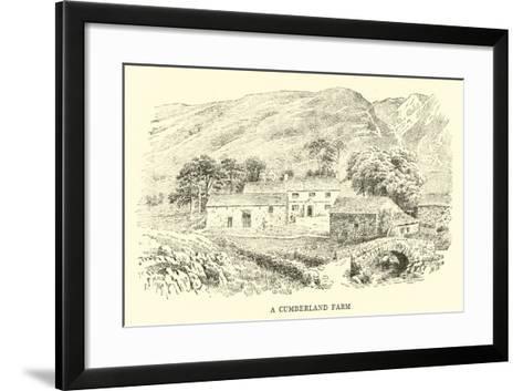 A Cumberland Farm-Alfred Robert Quinton-Framed Art Print