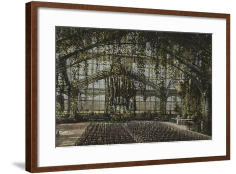 Winter Gardens Great Yarmouth--Framed Art Print