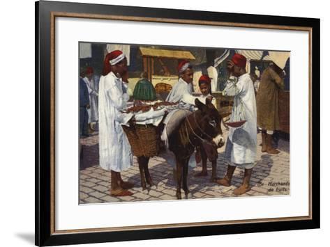 Fruit Seller, Tangier--Framed Art Print