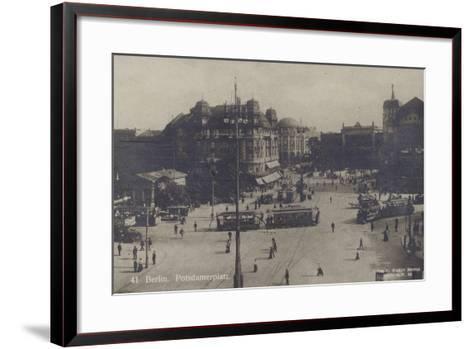 Potsdamer Platz, Berlin--Framed Art Print