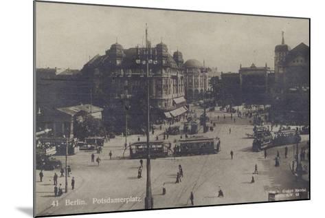 Potsdamer Platz, Berlin--Mounted Photographic Print