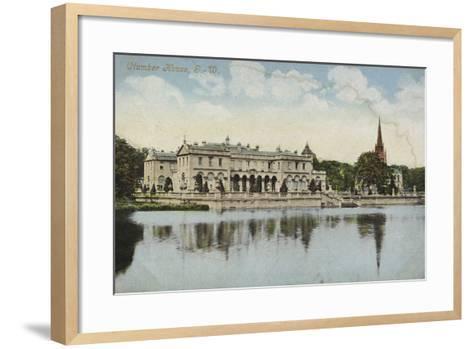 Clumber House, Nottinghamshire--Framed Art Print