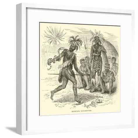 Bechuana Rain-Doctors--Framed Art Print