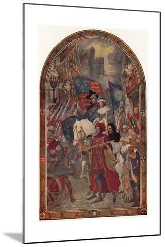 Henry VI, the Battle of Barnet, 1471-John Henry Amschewitz-Mounted Giclee Print