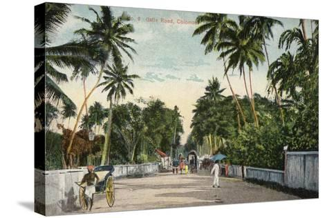 Galle Road in Colombo--Stretched Canvas Print
