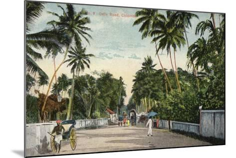 Galle Road in Colombo--Mounted Photographic Print