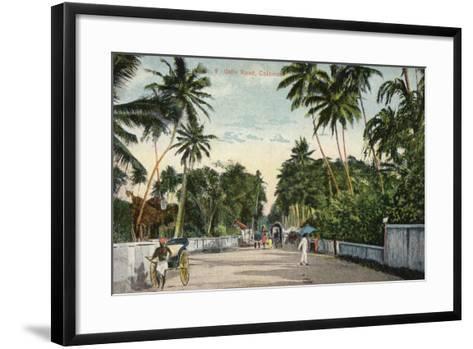 Galle Road in Colombo--Framed Art Print