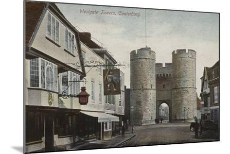 Westgate Towers, Canterbury, Kent--Mounted Photographic Print