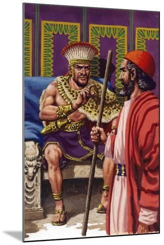 Saul Appearing before Samuel-Pat Nicolle-Mounted Giclee Print