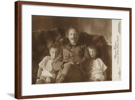 Kaiser Wilhelm II--Framed Art Print