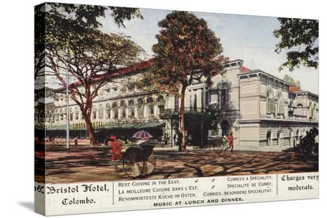 Bristol Hotel in Colombo--Stretched Canvas Print