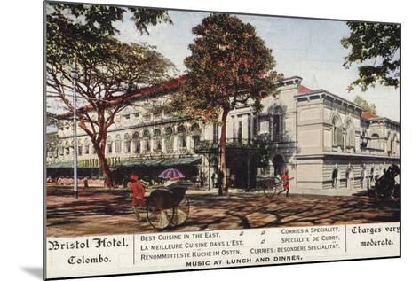 Bristol Hotel in Colombo--Mounted Photographic Print