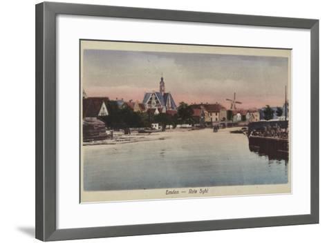 Rote Syhl, Emden, Germany--Framed Art Print