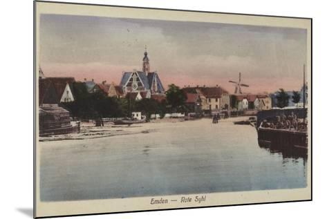 Rote Syhl, Emden, Germany--Mounted Photographic Print