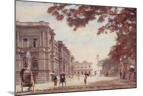 General Post Office--Mounted Photographic Print