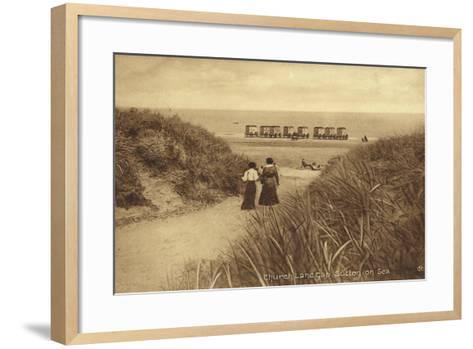 Church Lane Gap, Sutton-On-Sea--Framed Art Print