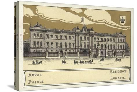 Buckingham Palace--Stretched Canvas Print
